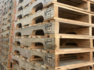 Four-way pallets
